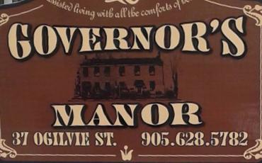 logo of Governor's Manor Retirement Home in Hamilton Ontario