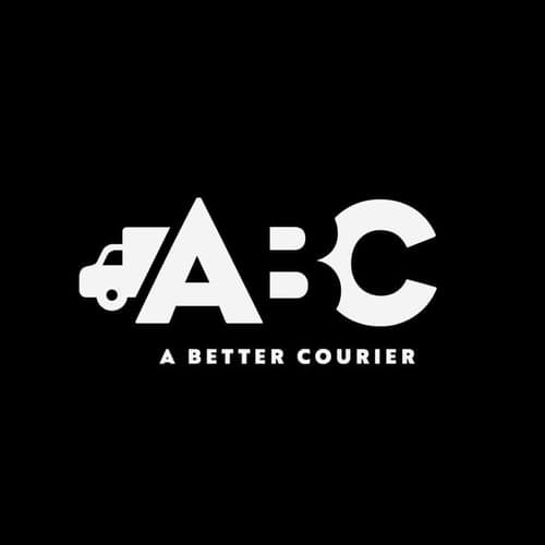 logo of ABC Courier Trucking Company