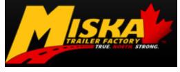 logo of Miska Trailer Factory