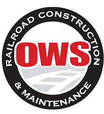 logo of OWS Railroad Construction Maintenance